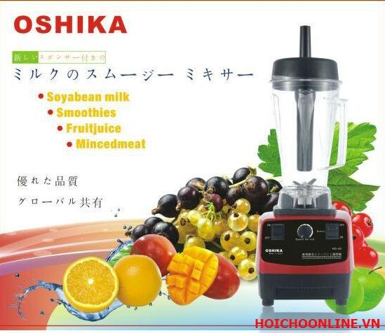 Máy xay sinh tố Oshika Nhật Bản, máy xay đá viên, xay sữa đậu nguyên xác Nhật
