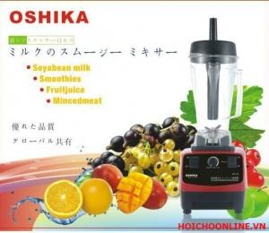 Máy xay sinh tố đa năng Oshika Japan, máy xay công suất lớn nhập khẩu nhật bản